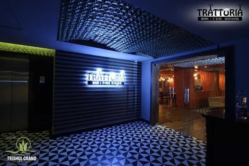 Trattoria- Hotel Trishul Grand