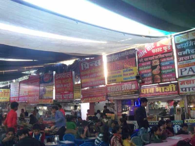 Street Food Stalls at at Sukhadia Circle