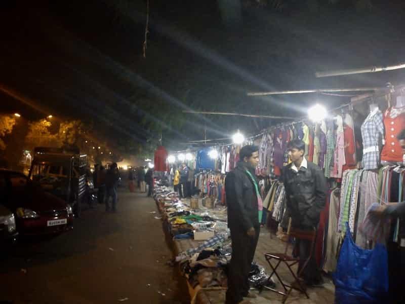 Street Vendors at Indira Market