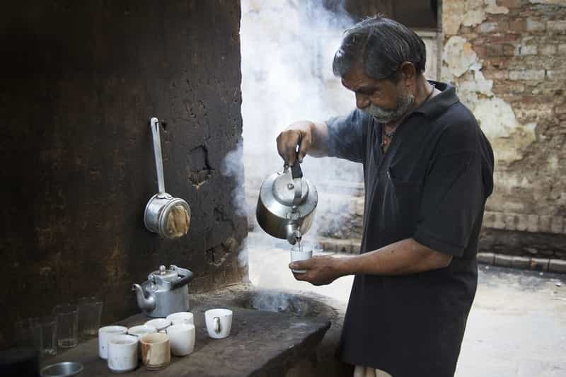 Chai at Kamlesh Tea Stall