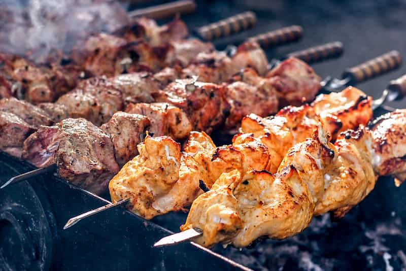 Kebabs or Grilled Meat