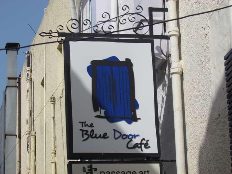 Blue Door has an amazing list of milkshakes