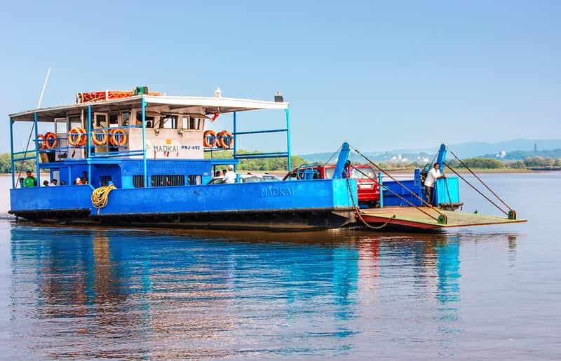Ferry Ride in Goa