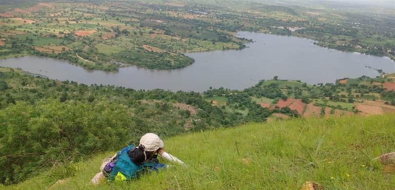 Makalidurga is a famous trekking destination