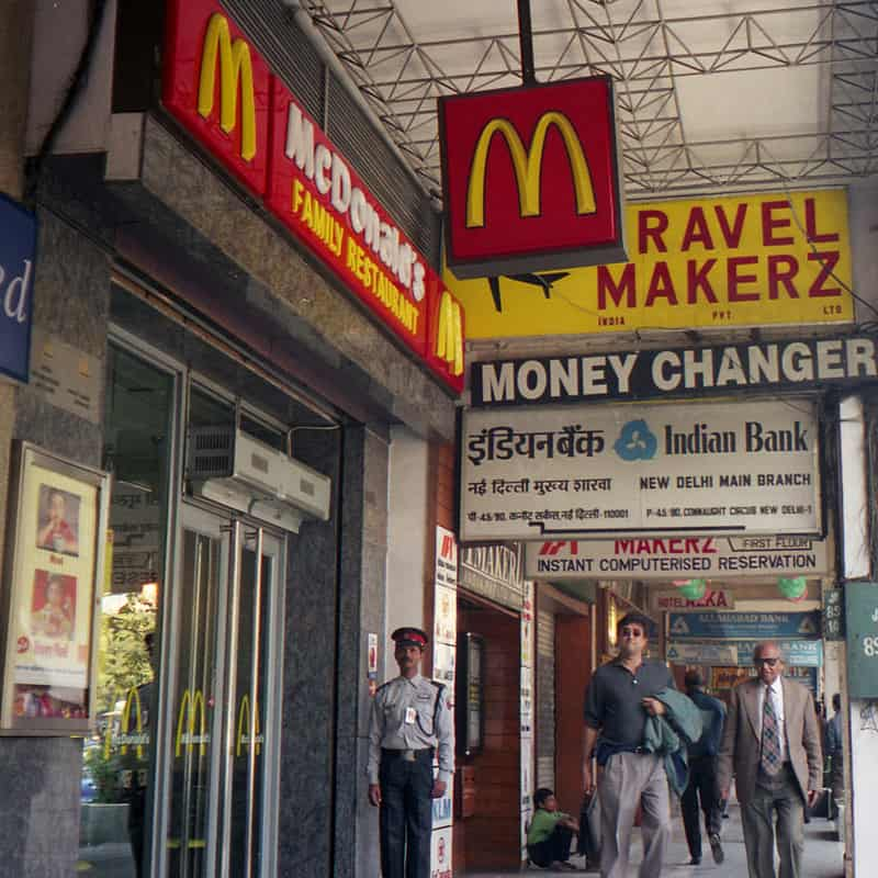 McDonald's, Connaught place