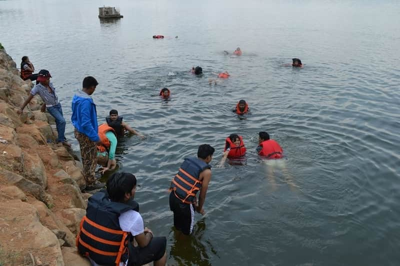 Ramanagaram is a great place for adventure sports