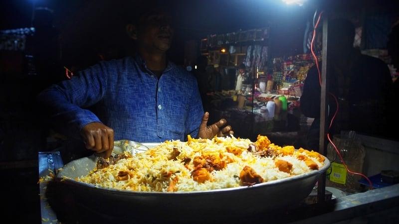 Street Food at Old Delhi
