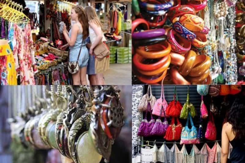 Street shopping at Sarojini Nagar