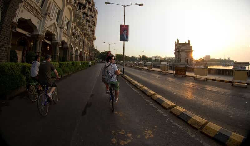 Take a cycling tour through South Mumbai