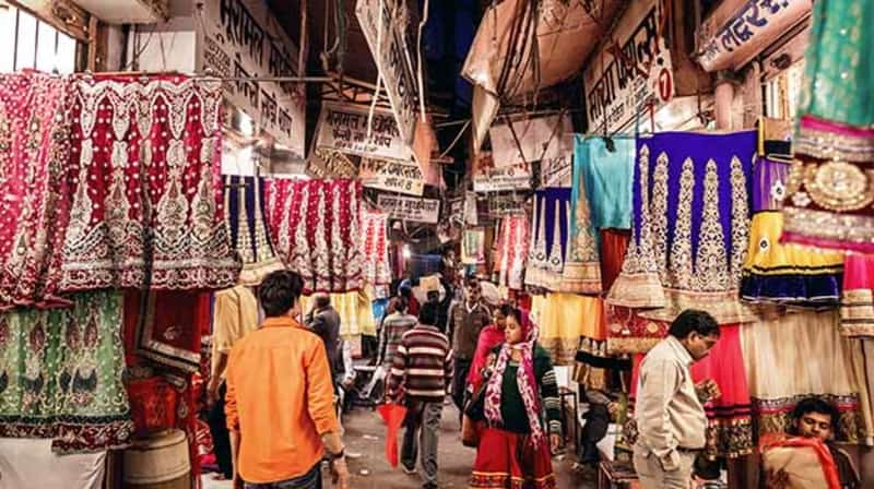 The Chickpet Market is a great place to buy sarees and Indian wear.
