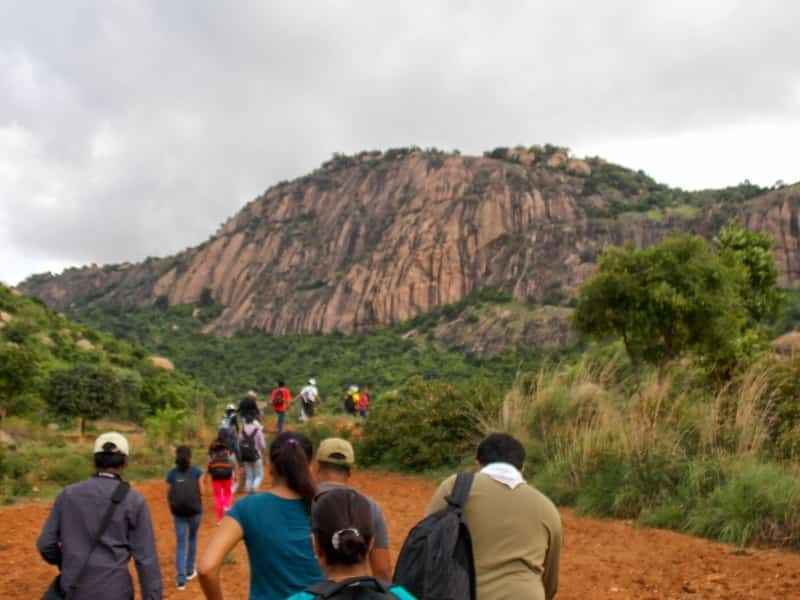 Trekkers enroute to the Betta