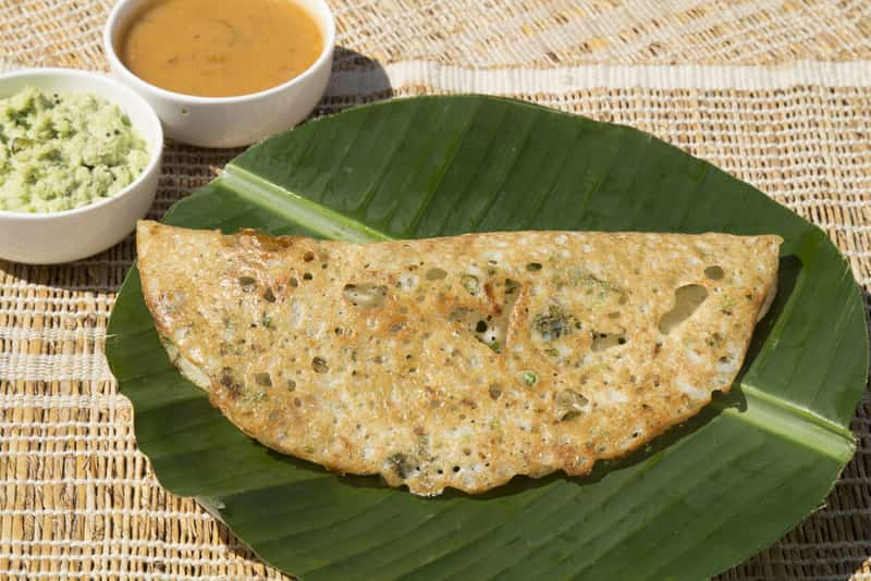 Try an authentic Rava Dosa for breakfast