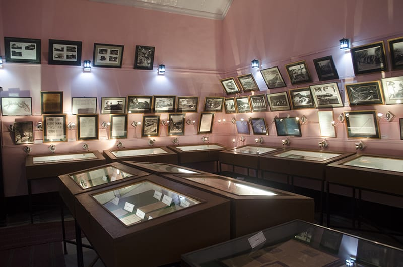 An archive at the museum in Kurseong