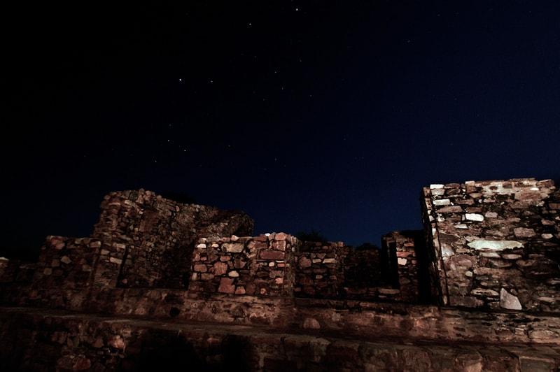 Bhangarh at Night