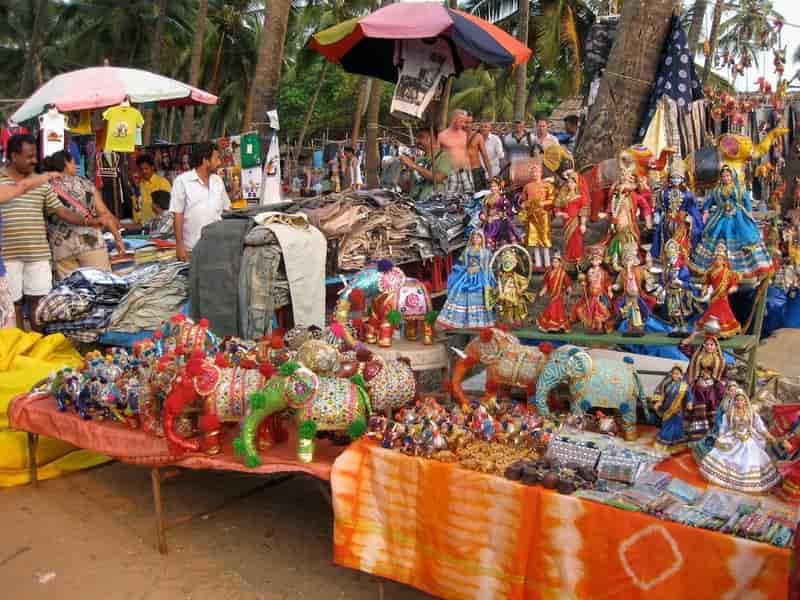 Colva Beach Market