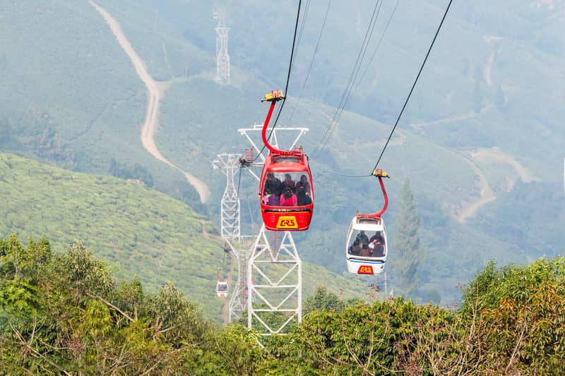 Darjeeling Ropeway is a fun activity for the entire family