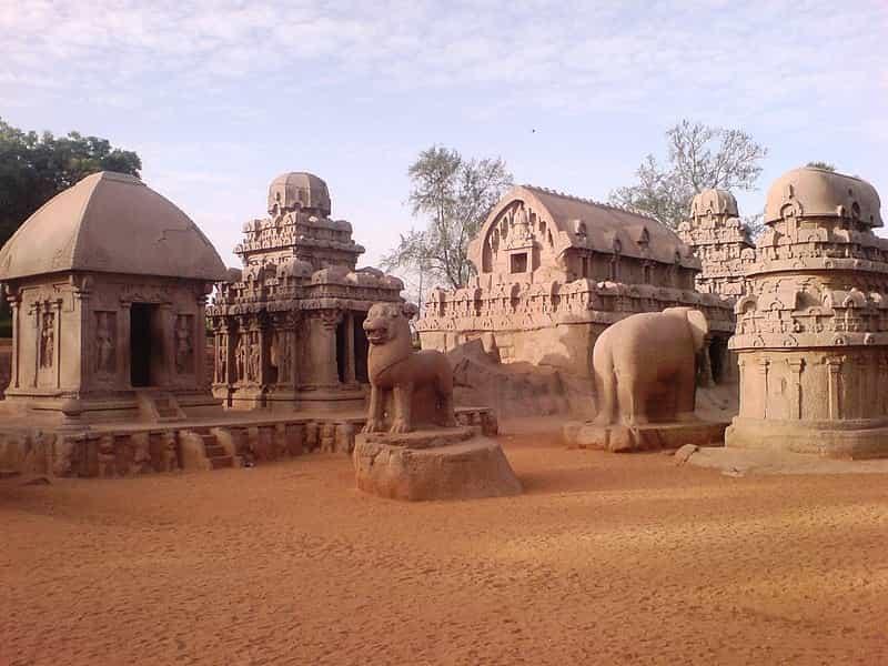 ive Rathas, Mahabalipuram