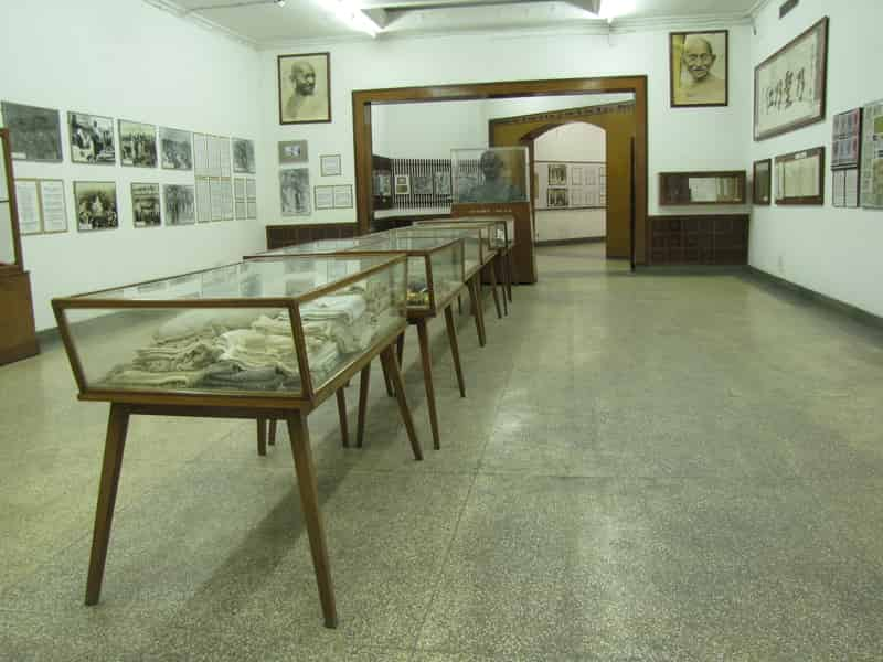Get an insight into Gandhiji's life at the National Gandhi Museum