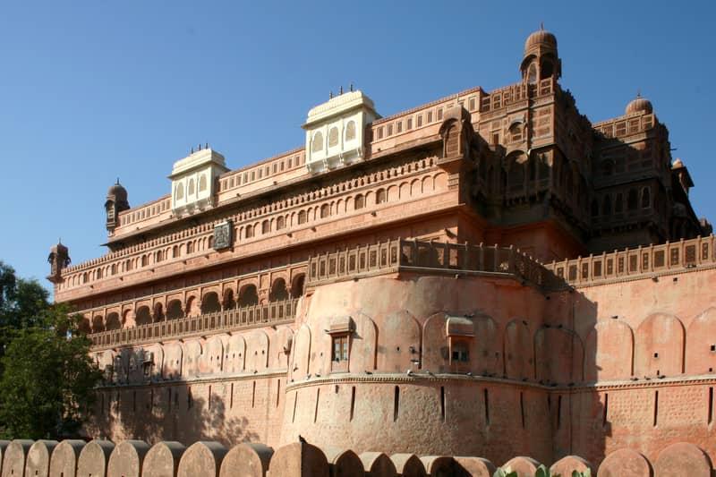 Junagarh fort at Bikaner