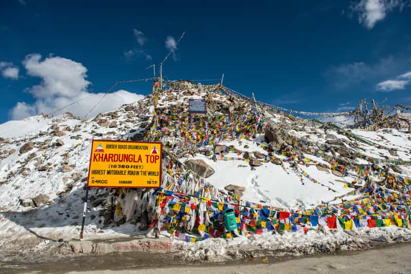 Magnetic Hill & Khardung La