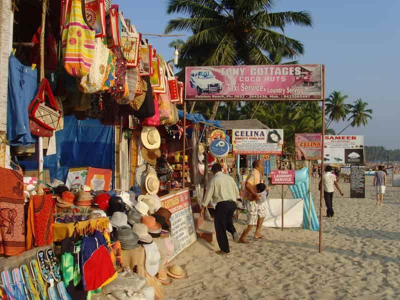 Palolem Beach Market