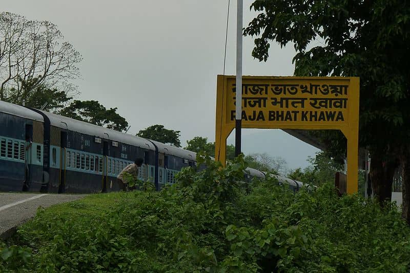 Take the train to Rajabhatkhawa for a different experience