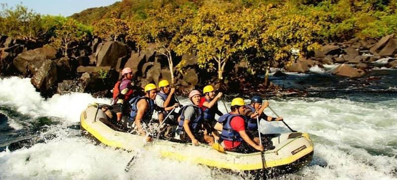 Teesta river is a favourite spot for adrenaline junkies