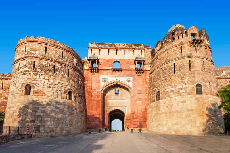 The Purana Qila in Delhi