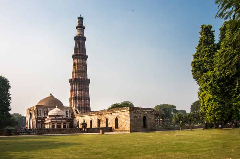 The Qutub Minar is the tallest tower in India