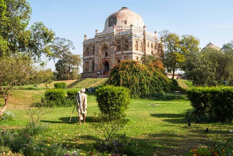 The famous Lodi Gardens in Delhi