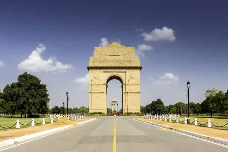 The gorgeous India Gate in Delhi