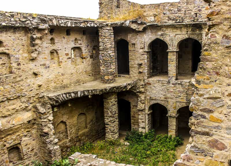 The haunted Bhangarh Fort