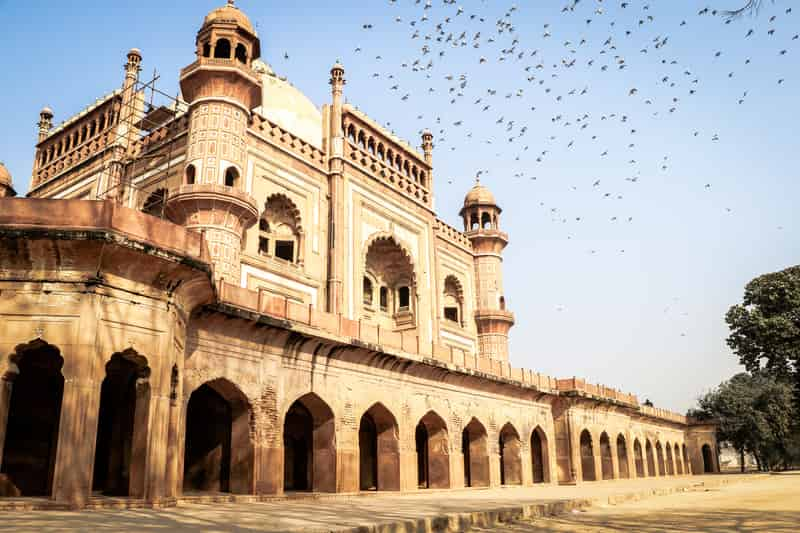 This tomb was built by Safdarjung's son, Shuja-ud-Daula