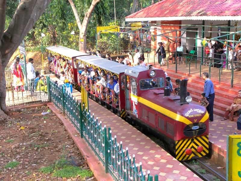 Kids can enjoy train rides at Bal Bhavan