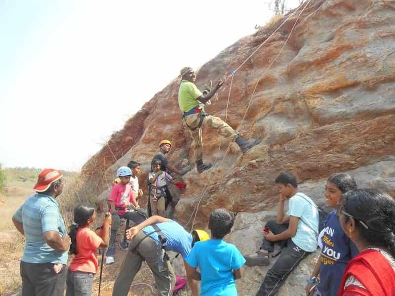 Rock climbing in Chennai