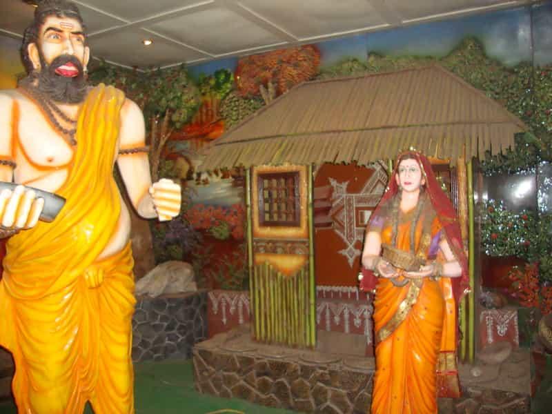 A Scene from the Ramayana at Sita Gufaa
