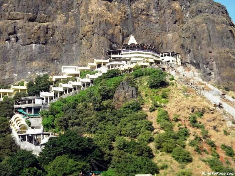 A View of the Saptashrungi Devi Temple