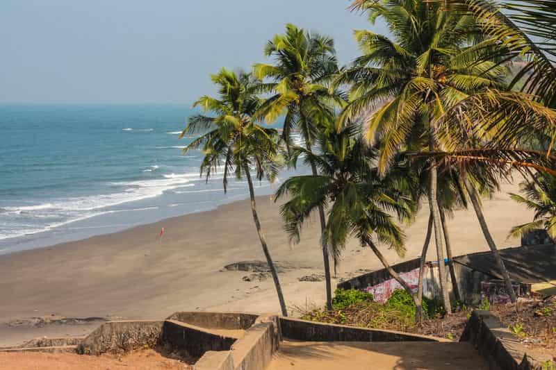 A beach in Mumbai