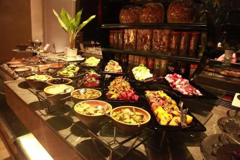 A breakfast spread at Seasonal Taste