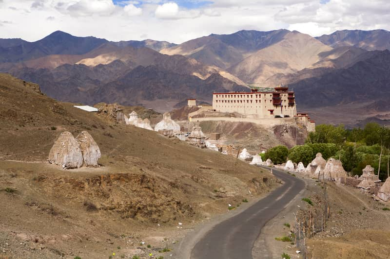 A gorgeous monastery in Alchi