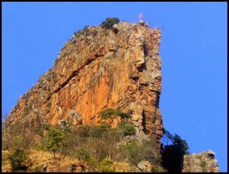 A hill at Ahobilam