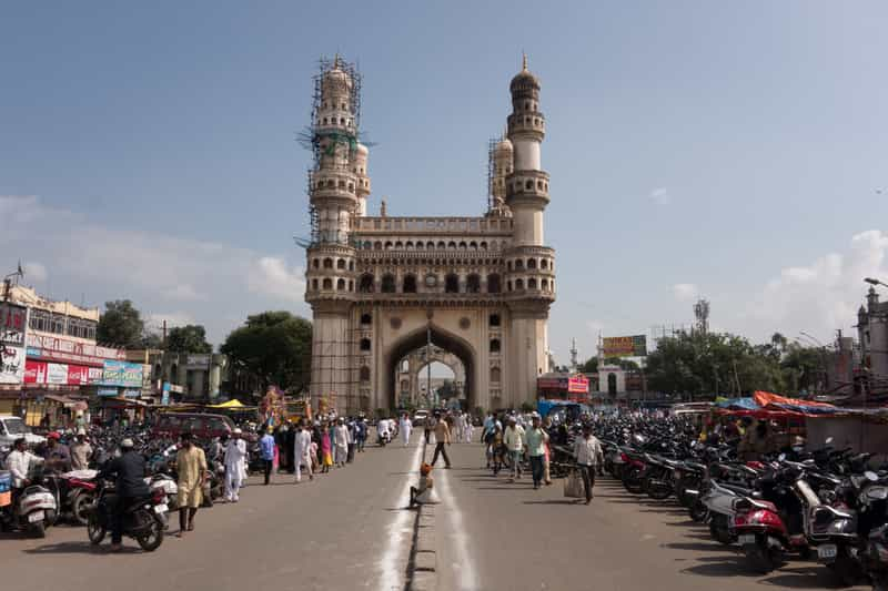 A historic site in Hyderabad