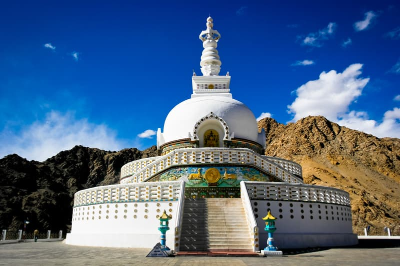 A historic statue of Lord Buddha