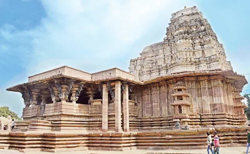 A historic temple in Warangal