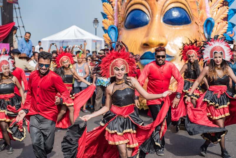 A parade in Goa