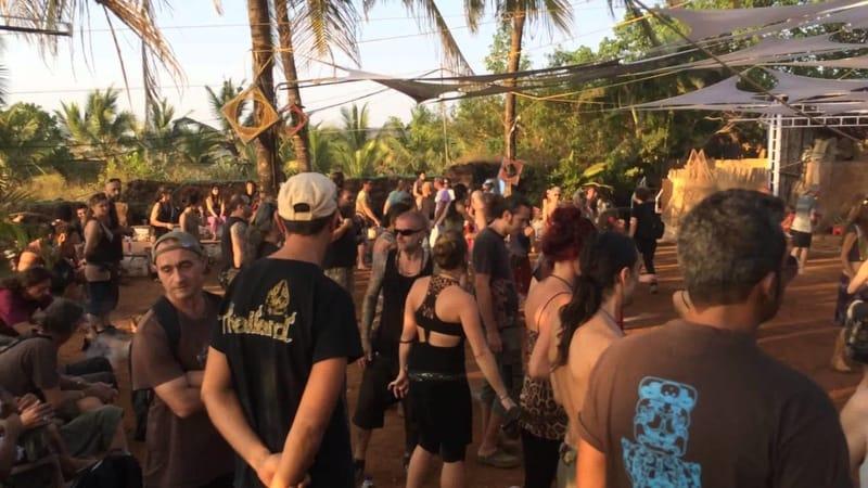 A popular nightclub for trance music