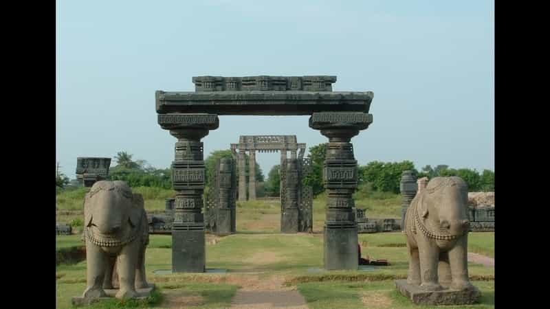 A relic at the city of Warangal