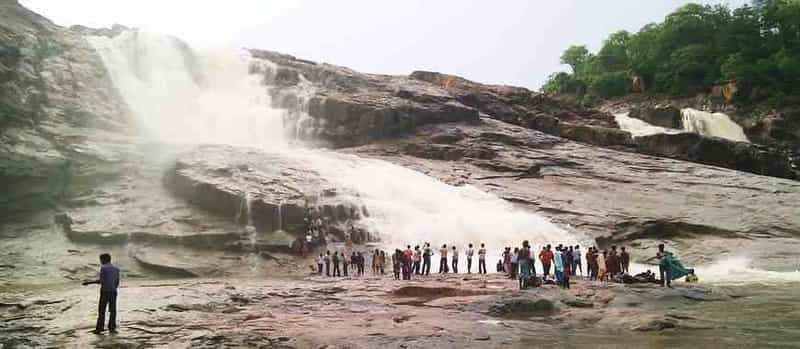 A waterfall at Adilabad