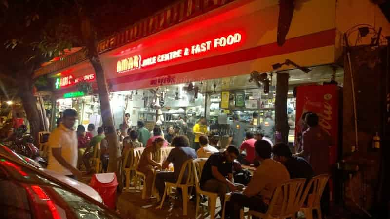 Amar Juice Is A Popular Hangout At Night