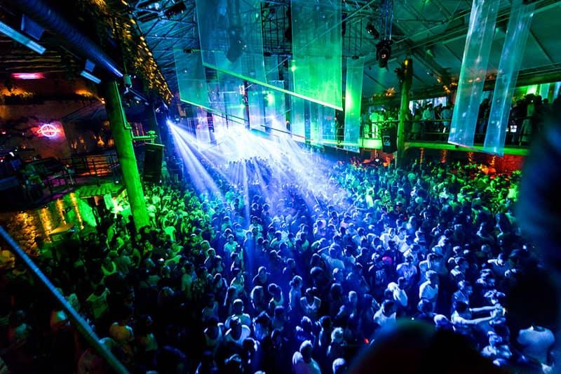 An iconic nightclub in Goa
